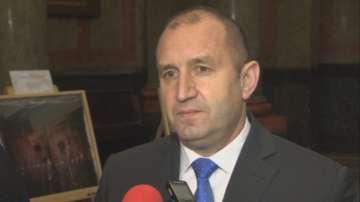 Президентът Радев: Няма да коментирам реакции