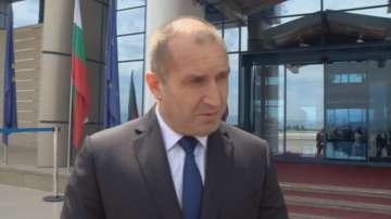 Президентът Радев, преди да отпътува за Македония: Общата ни история ще надделее