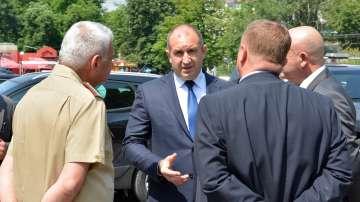 Президентът Румен Радев: Мнозинството нулира модернизацията на армията