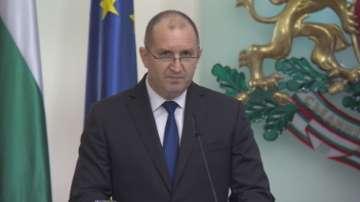 Президентът Румен Радев получи поздравителни писма за 3 март
