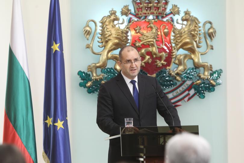 румен радев даде изявление връзка избора нов главен прокурор
