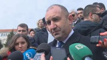 Президентът Румен Радев коментира промените в Изборния кодекс