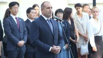 Президентът Радев: Свободата на словото в България е в криза