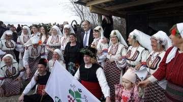 Президентът Радев беше гост на празника в Ивайловград