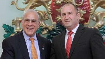Президентът Радев и премиерът Борисов се срещнаха с генералния секретар на ОИСР