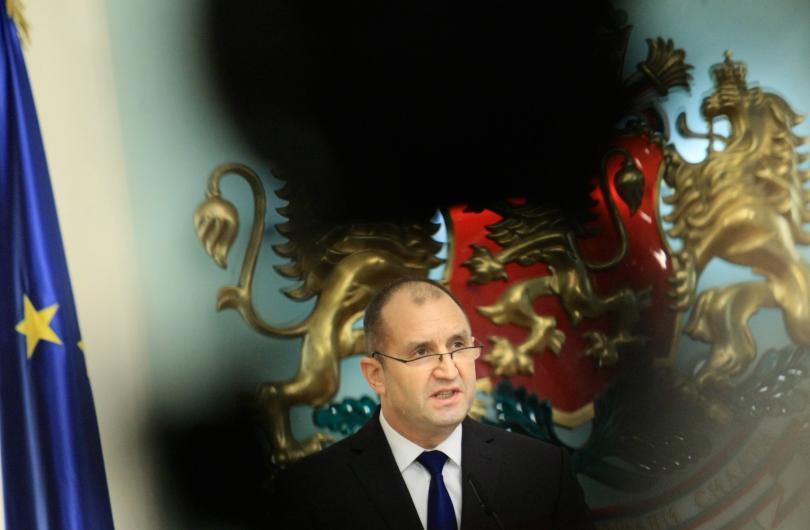 Президентът Румен Радев увери, че решението, което ще вземе за