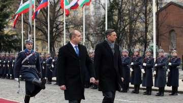 Официално посещение на президента на Словения