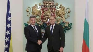 Радев се срещна с председателстващия Съвета на министрите на Босна и Херцеговина