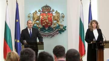 Румен Радев и Илияна Йотова отчетоха свършеното през втората година от мандата