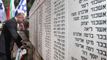 Румен Радев посети комплекса Яд Вашем в памет на жертвите на Холокоста