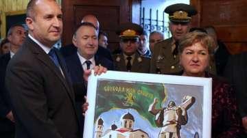 Президентът Румен Радев се включи в тържествата за Априлското въстание в Клисура