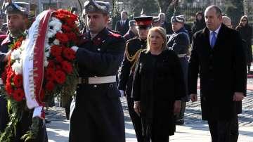 Румен Радев посрещна на официална церемония президента на Малта