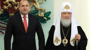 Президентството: Разговорът с руския патриарх Кирил не е бил засекретяван