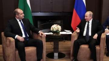 Президентът Радев се срещна с Владимир Путин в Сочи