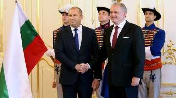 Втори ден от посещението на президента Радев в Братислава