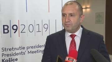 Румен Радев: Надявам се правителството да материализира визитата на Медведев