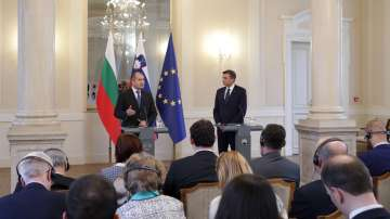 Официална визита на президента Румен Радев в Словения