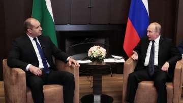 Президентите Румен Радев и Владимир Путин разговаряха в Сочи