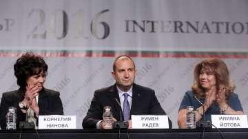 Категорична победа за Румен Радев на изборите
