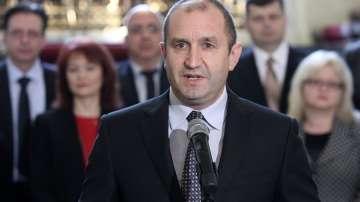 Румен Радев заяви, че е почти готов със свой служебен кабинет