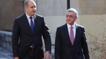 Румен Радев: Армения може да бъде врата за българския бизнес
