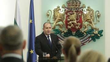 Президентът Румен Радев отчете първата година от мандата си