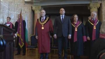 Президентът и ректорът откриха новата академична година в Софийския университет