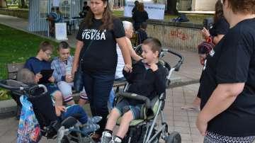 Палатков лагер на майки на деца с увреждания вече и в Русе