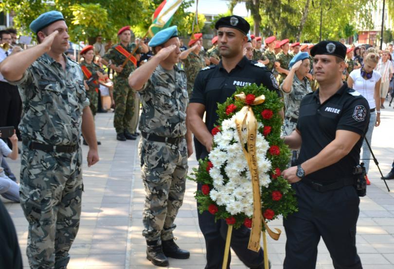 снимка 2 България чества 131-та годишнина от Съединението