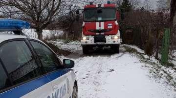 Спасиха трудноподвижен мъж от пожар в Русе