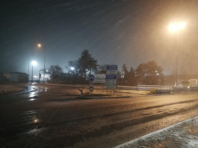 Пътищата в Русе и региона са проходими при зимни условия