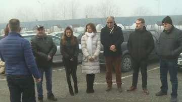 Работещите в индустриалната зона на Русе протестират срещу винетките