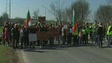 Русенци протестираха срещу липса на канализация