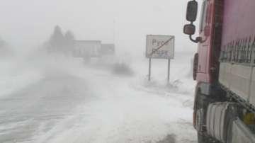 Поледица затвори всички пътища в област Русе