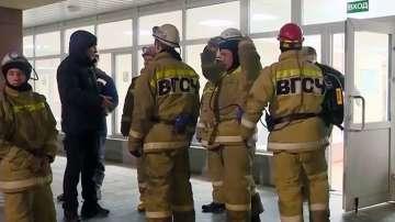 Девет жертви на пожар в руска мина