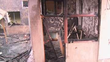 Двама души са пострадали при пожар в Русе