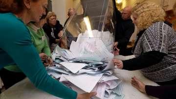 От нашия пратеник: Единна Русия печели конституционно мнозинство