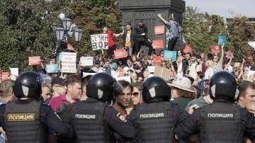 Масови протести срещу пенсионната реформа в Русия