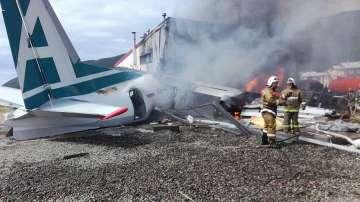 Двама загинаха след аварийно кацане на руски пътнически самолет в Бурятия