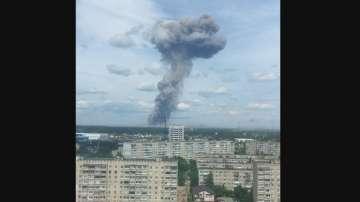 Десетки души пострадаха при няколко врзива в руски завод за боеприпаси