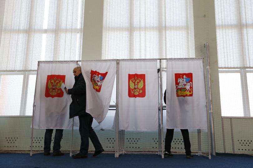 снимка 1 Избори в Русия: 110 милиона души гласуват за нов президент
