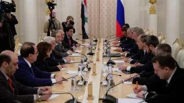 Среща на външни министри в Москва за обстановката в Сирия
