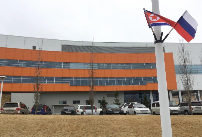 Снимка: Преди срещата на върха Русия - Северна Корея в четвъртък във Владивосток