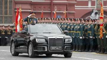Военен парад в Москва за Деня на победата