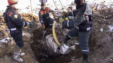 Повреда в скоростомера е една от вероятните причини за авиоинцидента край Москва