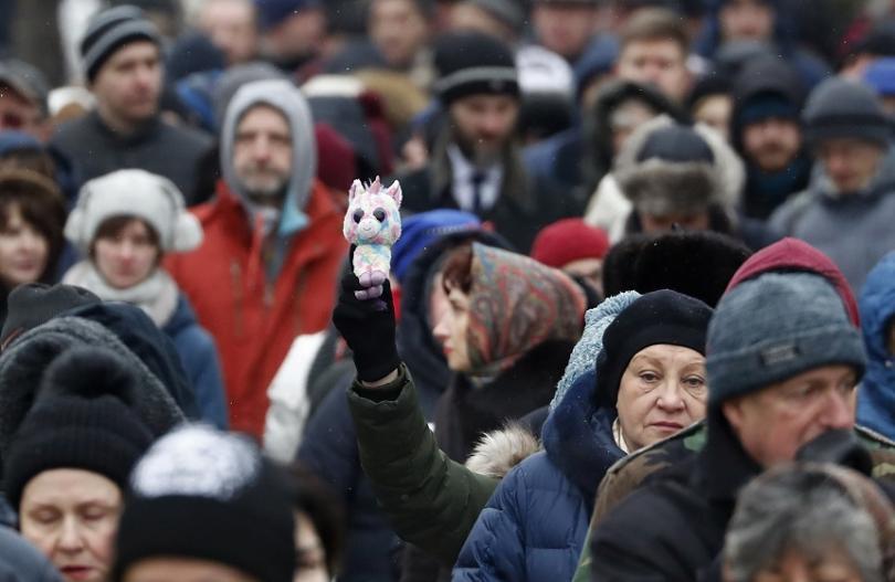 Протести в подкрепа на правозащитничка се проведоха в няколко руски града