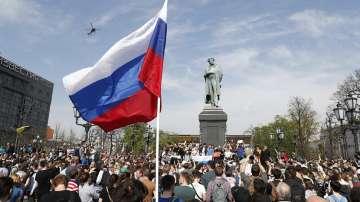 Масови протести срещу президента Путин в десетки градове на Русия