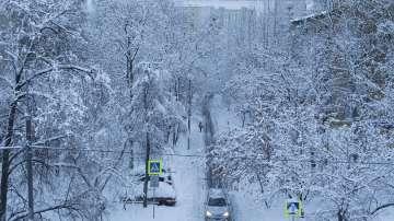 Рекорден снеговалеж в Русия