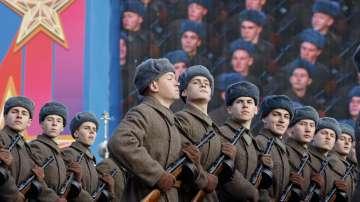 В Москва пресъздадоха историческия парад от 1941 година