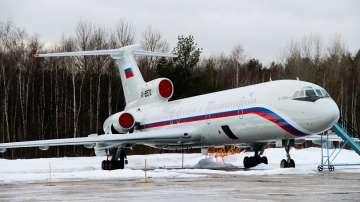 Русия преустановява временно полетите на самолети Ту-154